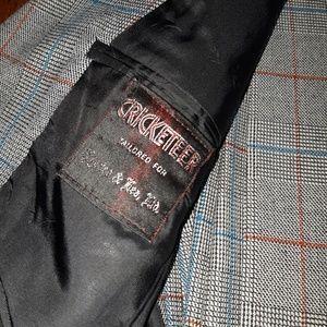 Vintage Suits & Blazers - Vintage Suit, Gray Plaid